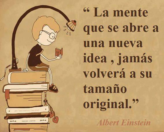 Que lo dijo Einstein